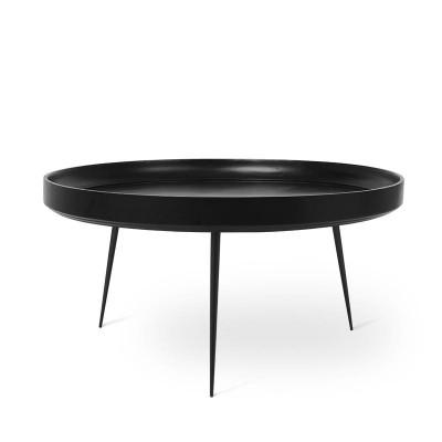 Beistelltisch Bowl Extra Large | Schwarz Gebeiztes Mangoholz