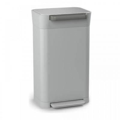 Intelligent Waste Titan Trash Compactor | Grey & Red