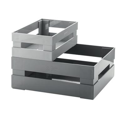 2er Set Boxen My Kitchen l Grau