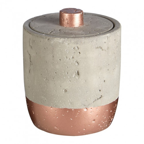 Jar with Lid Neptune   Copper