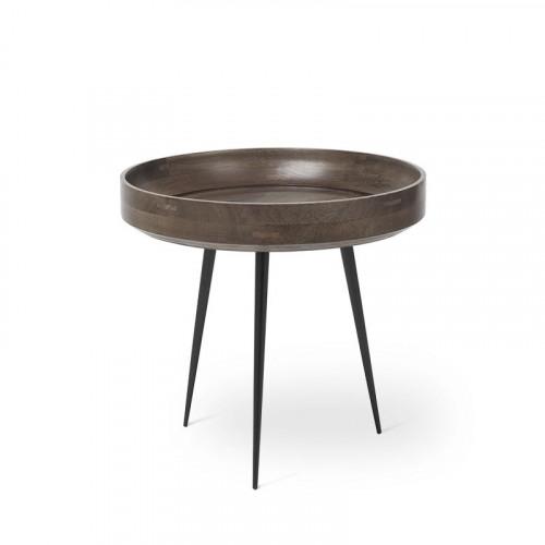 Beistelltisch Bowl Small | Sirka Grau Gebeiztes Mangoholz