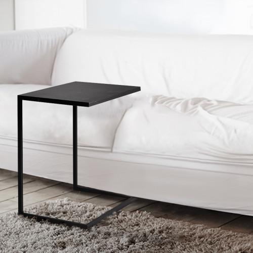 Beistelltisch Lupe 60 cm | Schwarz