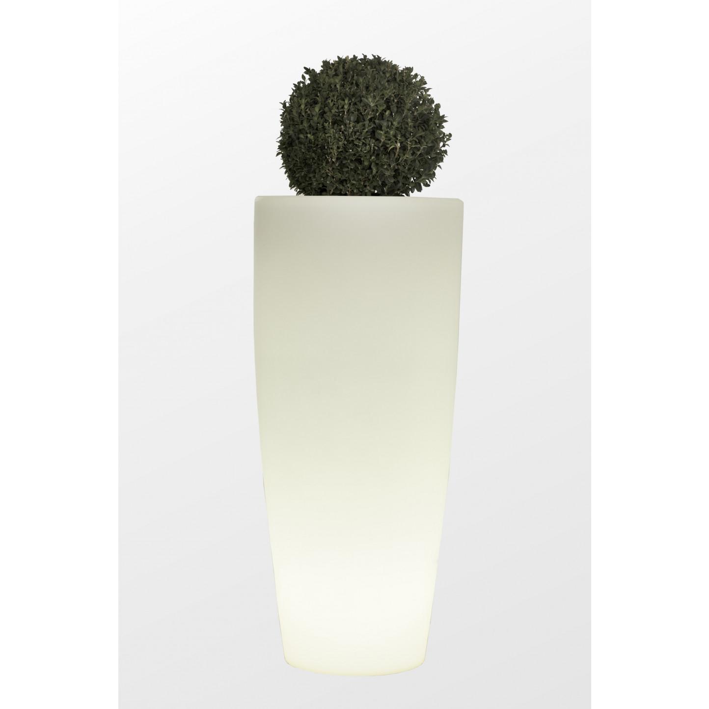 Vase Light Indoor / Outdoor Bullet   White
