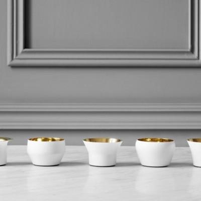Candle Holder Kin (Set of 5)   White