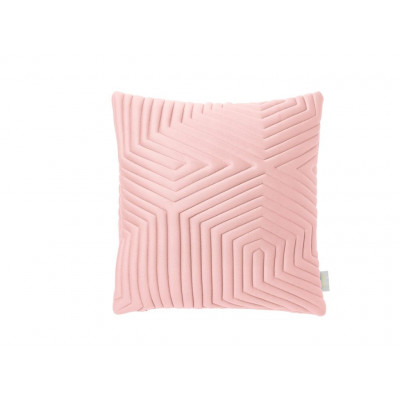 Optical Memory Pillow Square | Nude