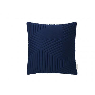Optical Memory Pillow Square | Blue