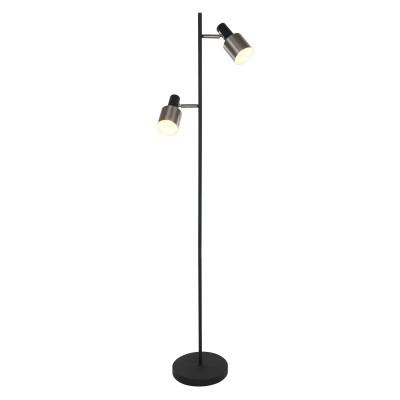 Floor Lamp 2-L 1702ZW | Black