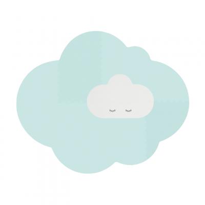 Spielmatte Wolke - Groß | Minzgrün