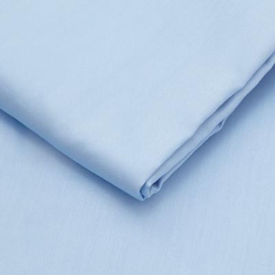 Spannbetttuch Baumwollsatin | Light Blue