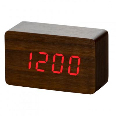 Wecker Holz | Braun