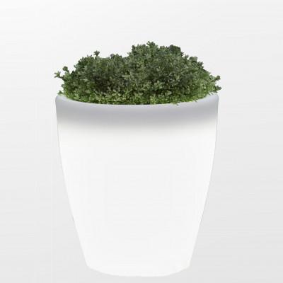 Vase Leuchte für Drinnen/Draußen Sunset | Weiß