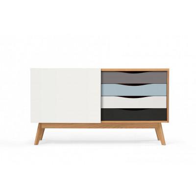 Sideboard Avon | Oak / Multicolour