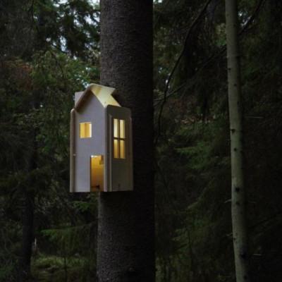 Haus Licht   Sperrholz