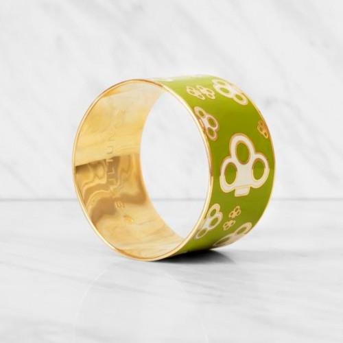 Key Bangle Bracelet | Lime Green