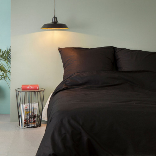 Bettbezug Ranforce | Schwarz-155x200cm