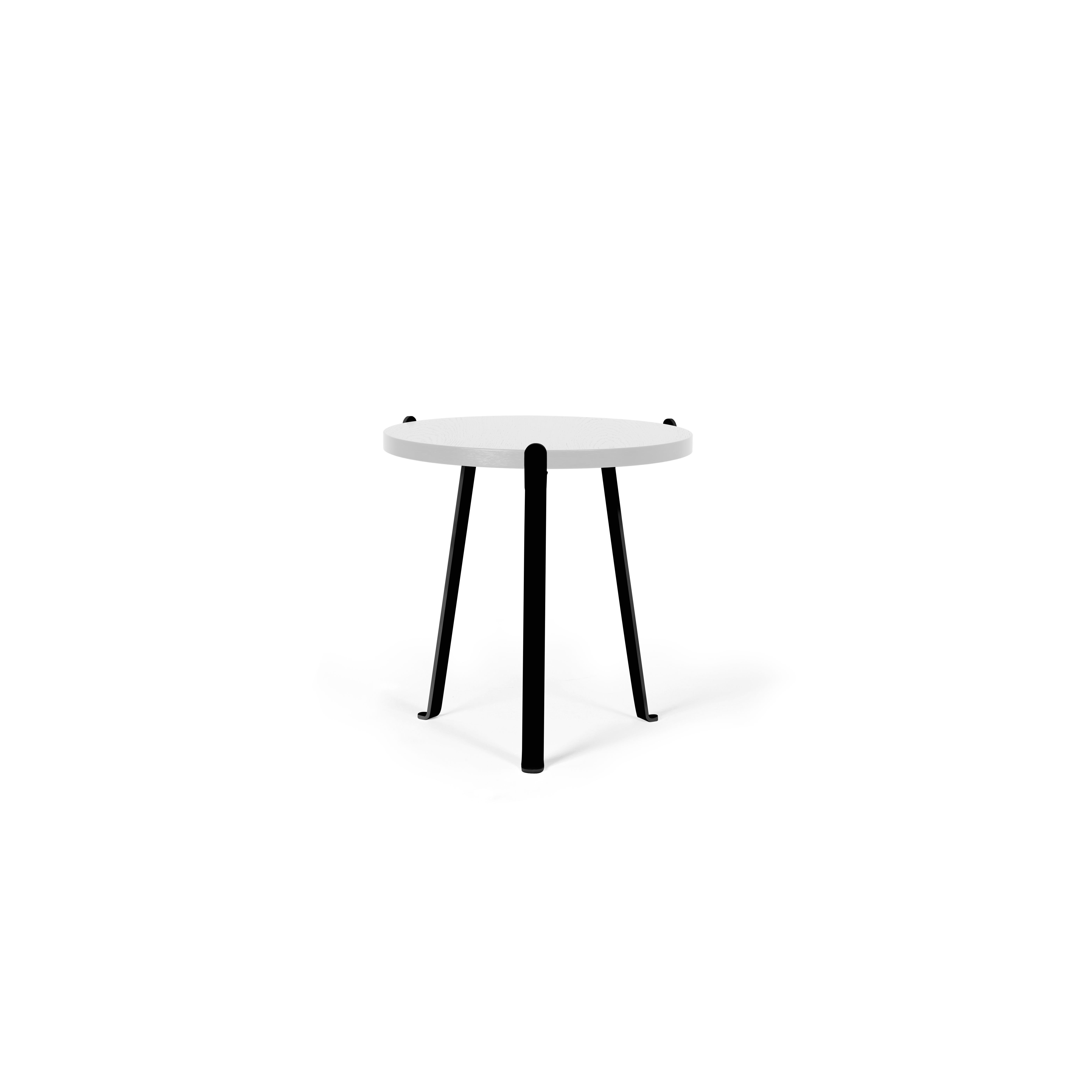 Arch Side Table   White Top