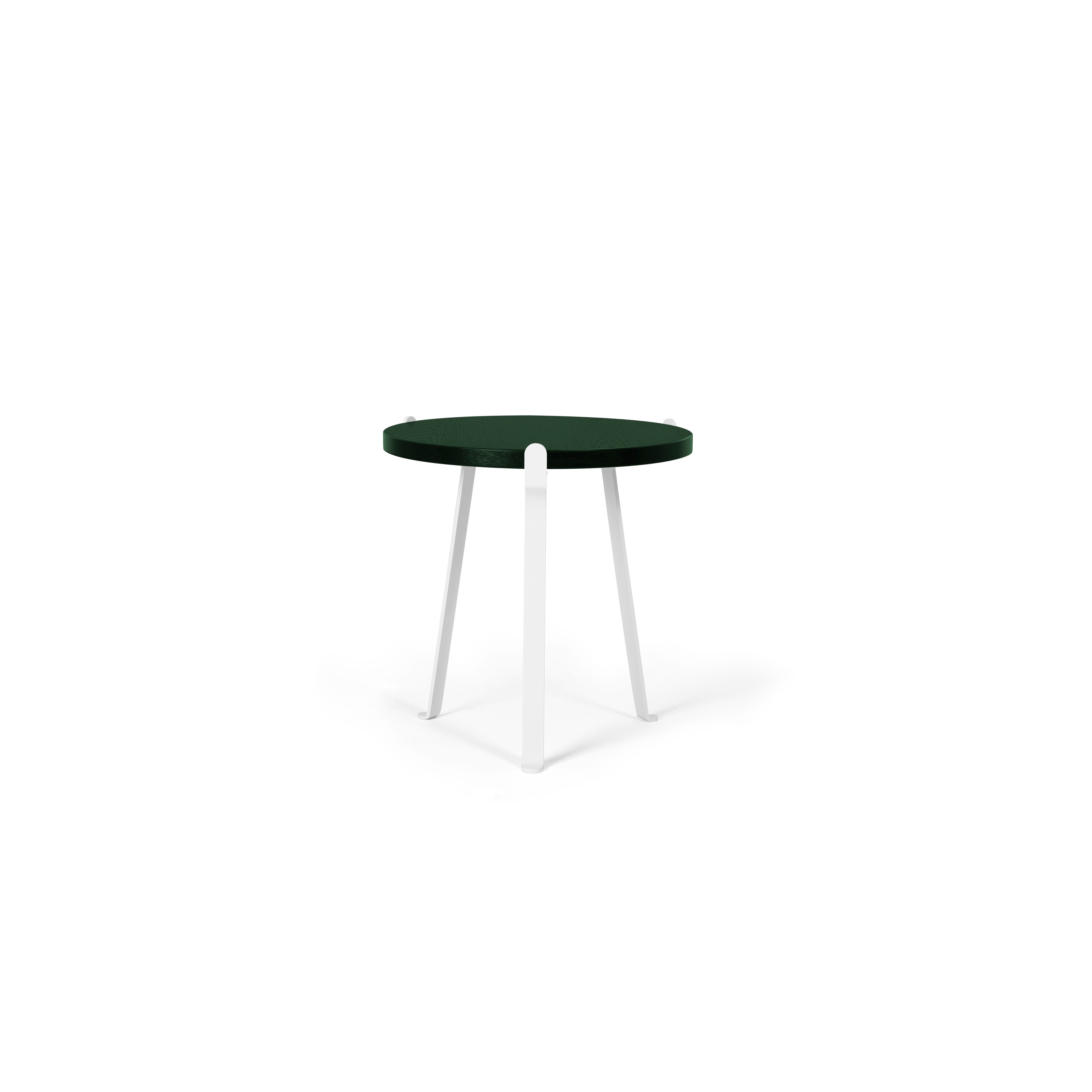 Arch Side Table   Dark Green Top