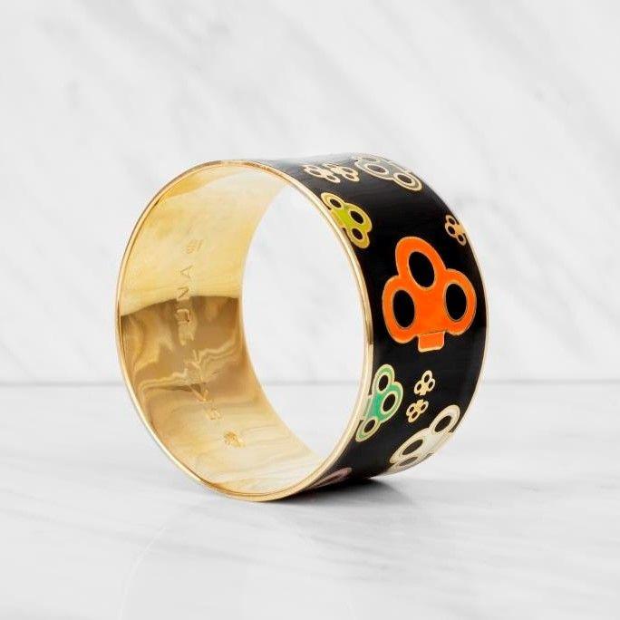 Key Bangle Bracelet | Multicolor