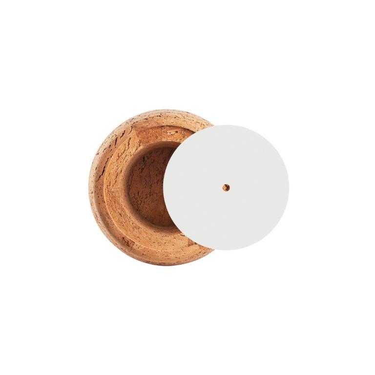 Beistelltisch #1 | Naturkork + Graue Tischplatte