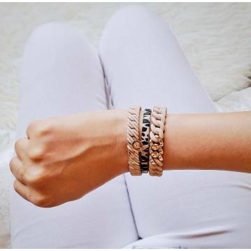 Classic Mini Bracelet 15 mm   Candy & Gold