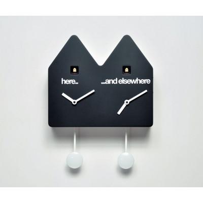 Double Q Uhr Schwarz