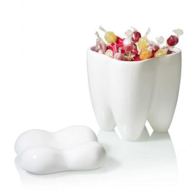 Keksdose Sweet Tooth   Weiß
