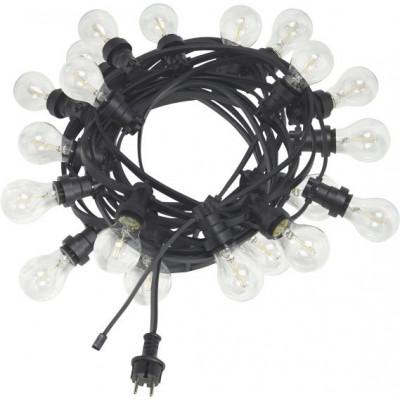 Outdoor Lichterkette Bright Clear Lampen | Schwarz