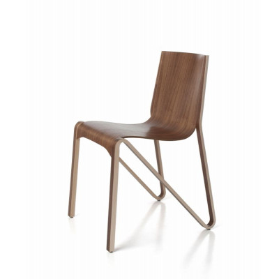 Stuhl Zesty | Walnuss