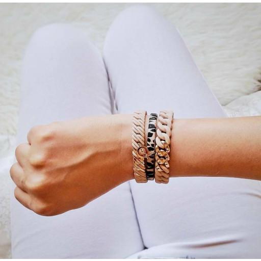 Circle Bracelet Nano   White