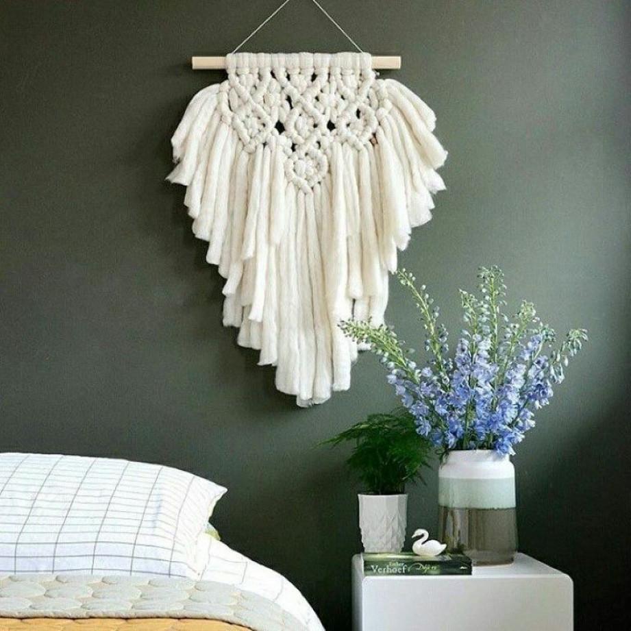 Wool Wall Hanger | Ivory
