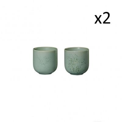 Teetasse Coppa Minto 0.2L 4er-Set | Grün