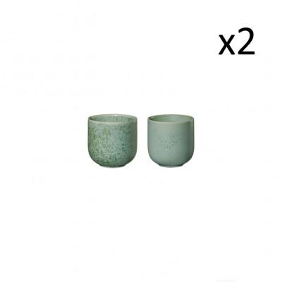 Teetasse Coppa Minto 0.15L 4er-Set | Grün