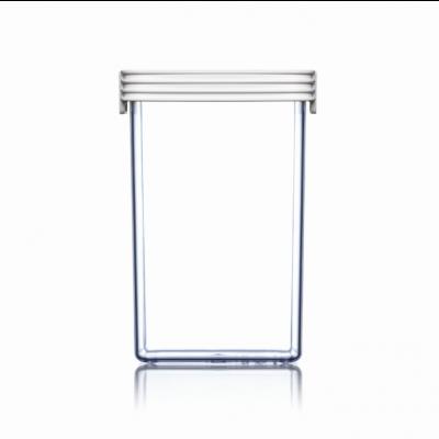 Lebensmittel-Lagerbox Grundlagen Hoch | Weiß-190 cl