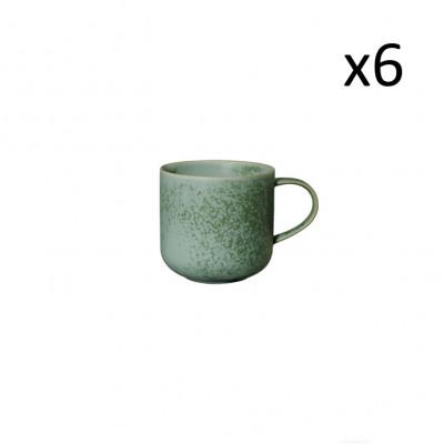 Becher Coppa Minto 6er-Set | Grün