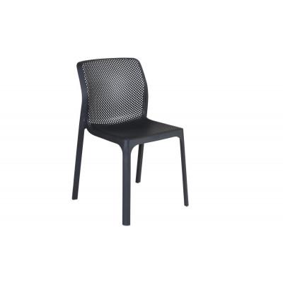 Stapelbares Stuhl Net | Anthrazit