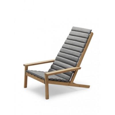 Kissen für Outdoor-Liegestuhl zwischen den Linien | Esche