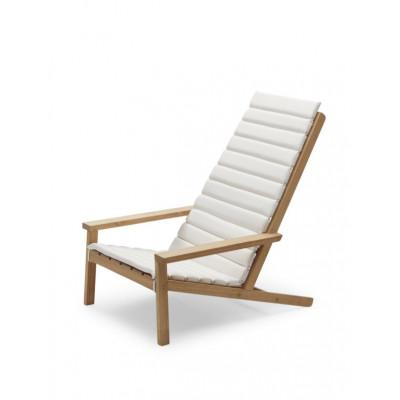 Kissen für Outdoor-Liegestuhl zwischen den Linien | Weiß