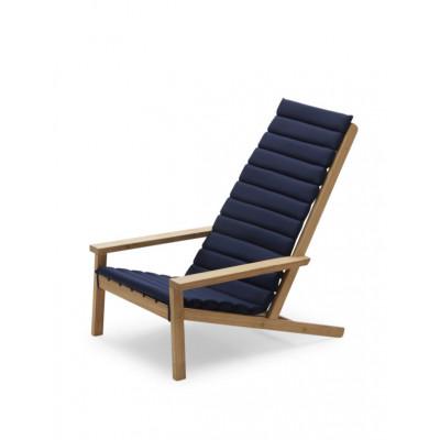 Kissen für Liegestuhl im Freien zwischen den Linien | Marine