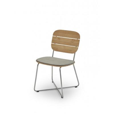 Outdoor Chair Cushion Lilium | Ash