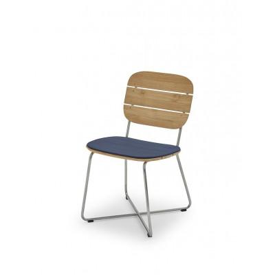 Outdoor Chair Cushion Lilium | Marine