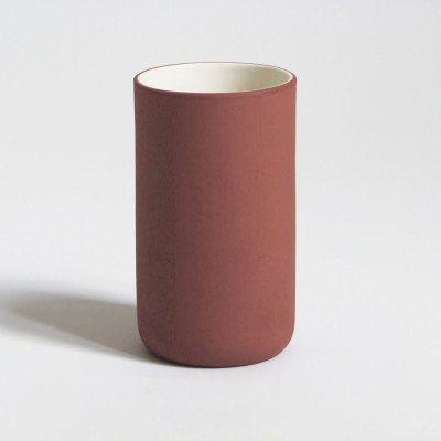 Latté-Tasse 6er-Set | Terrakotta