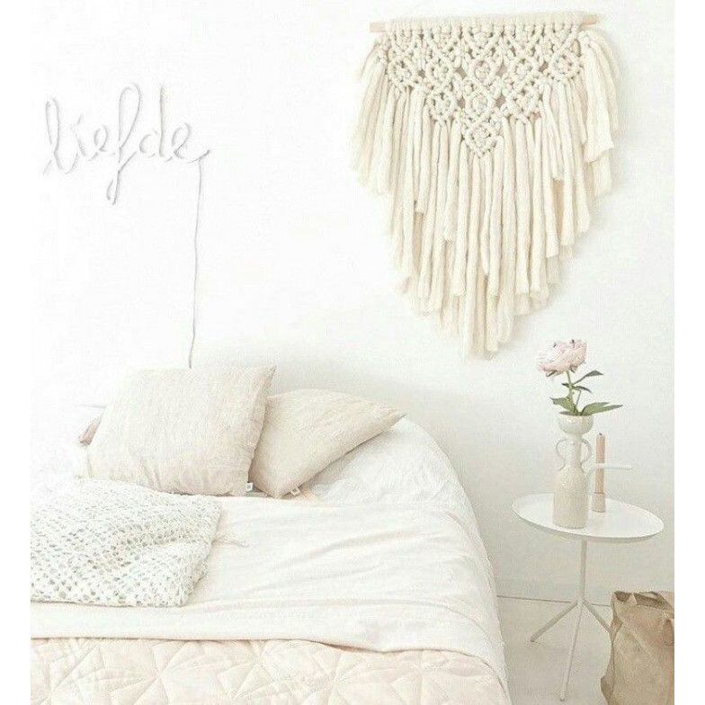 Wool Wall Hanger   Blush