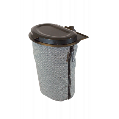 Flextrash Mülleimer 3 L | Grau