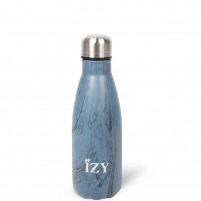 Thermo Trinkflasche 350ml | Design Blau