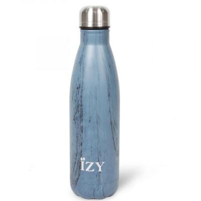 Thermo Trinkflasche 500ml | Design Blau