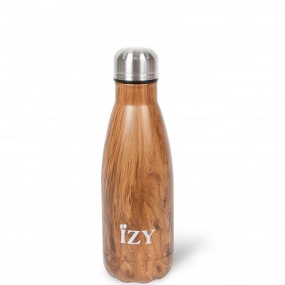 Thermo Trinkflasche 350ml | Design Braun