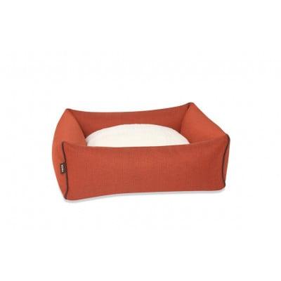 Haustierbett Bolster M | Orange