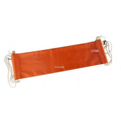 Unter Schreibtisch-Fuß-Hängematte | Orange