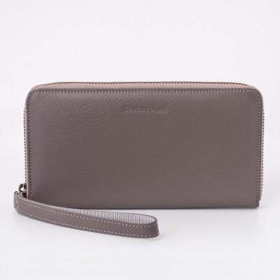 Brieftasche mit Reißverschluss | Pale Stone