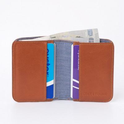 Portemonnaie für Bargeld und Kreditkarten | Karamell
